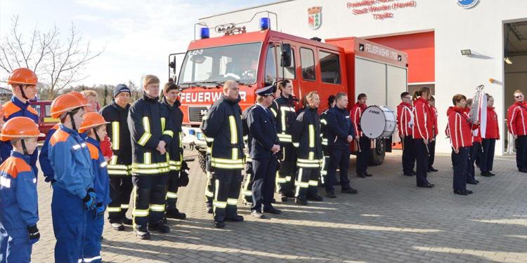 Feuerwehrdepot Werder 2017