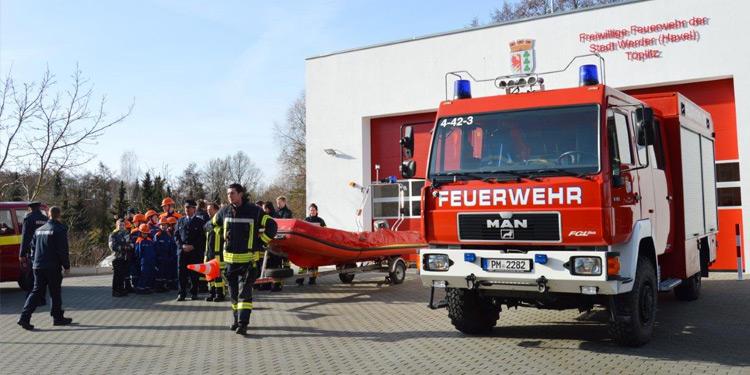 Feuerwehrdepot Werder